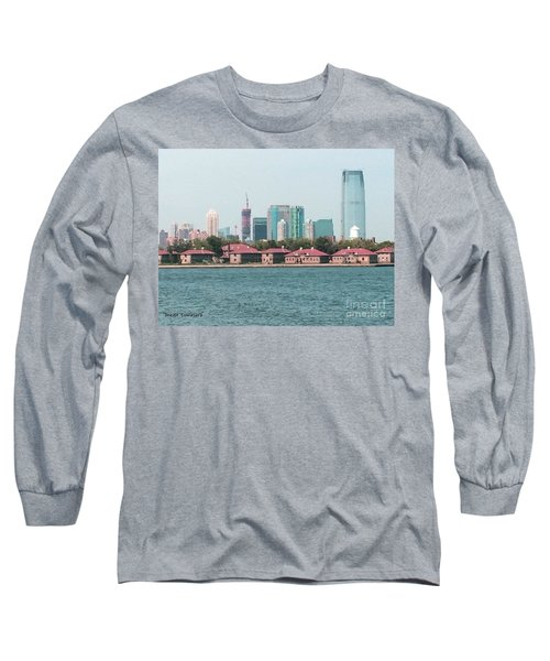 Ellis Island And Nyc Long Sleeve T-Shirt
