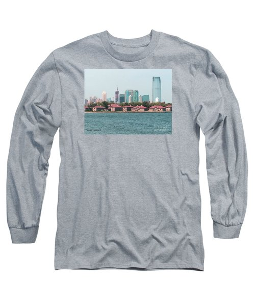 Ellis Island And Nyc Long Sleeve T-Shirt