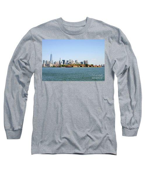 Ellis Island New York City Long Sleeve T-Shirt