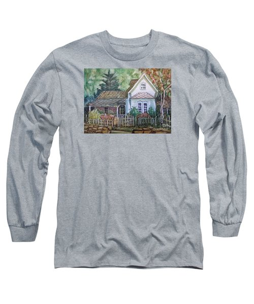 Long Sleeve T-Shirt featuring the painting Elma's Home by Gretchen Allen