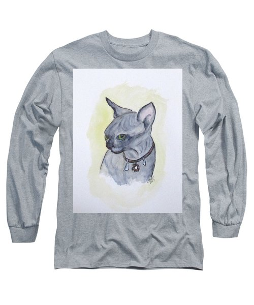 Else The Sphynx Kitten Long Sleeve T-Shirt