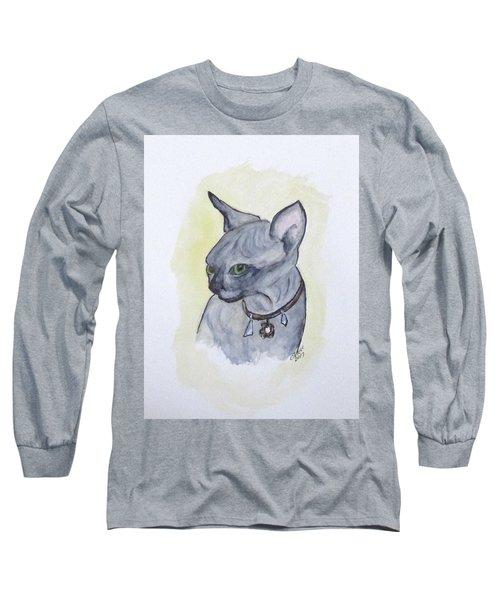 Else The Sphynx Kitten Long Sleeve T-Shirt
