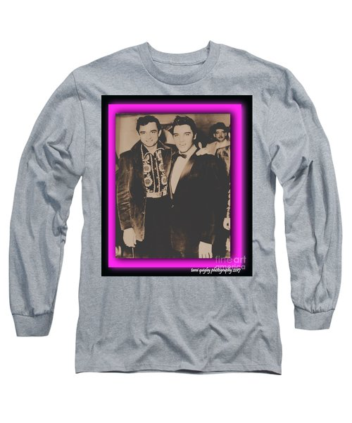 Elvis And Johnny Long Sleeve T-Shirt