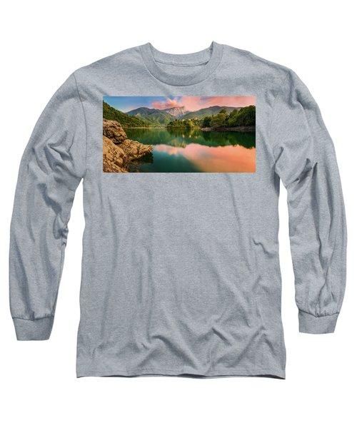 Emerald Mirror Long Sleeve T-Shirt