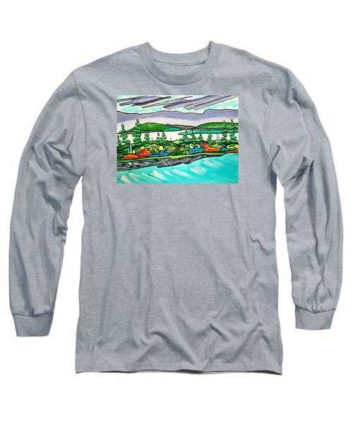 Emerald Sea Islands Long Sleeve T-Shirt