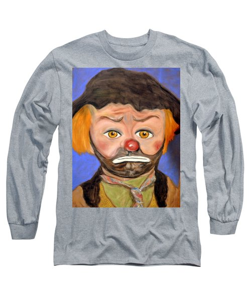 The Clown  Long Sleeve T-Shirt by Antonia Citrino