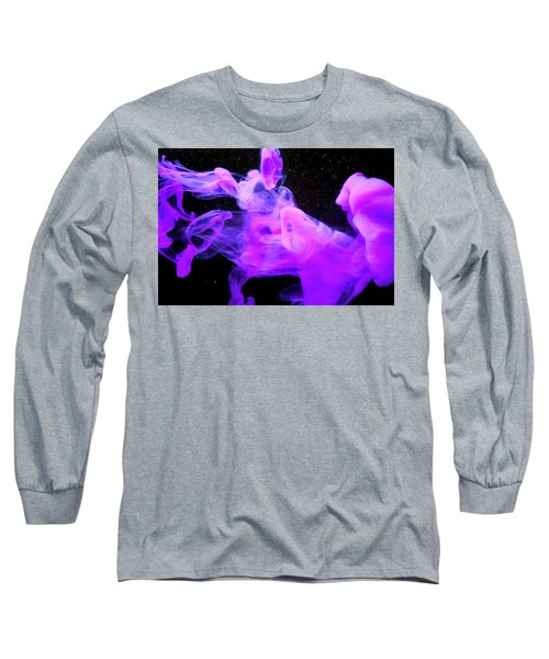 Emptiness In Harmony - Fine Art Photography - Paint Pouring Long Sleeve T-Shirt