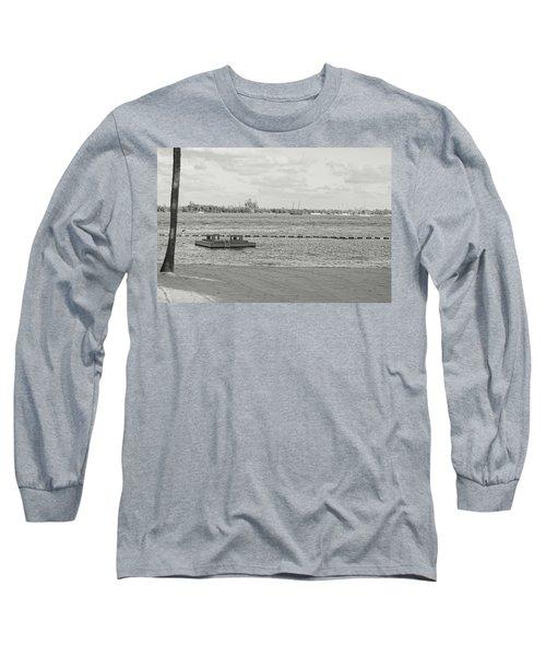 Empty Beach Long Sleeve T-Shirt