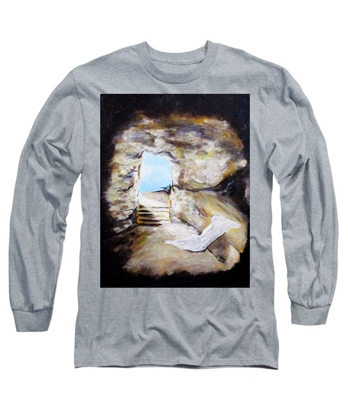 Empty Burial Tomb Long Sleeve T-Shirt