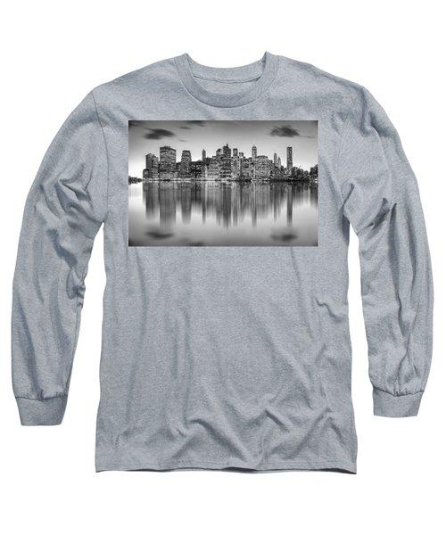 Enchanted City Long Sleeve T-Shirt by Az Jackson