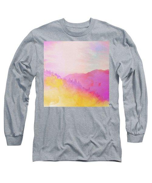 Long Sleeve T-Shirt featuring the digital art Enchanted Scenery #2 by Klara Acel