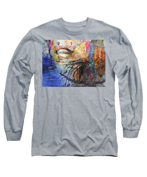 Enchanted Waters Long Sleeve T-Shirt by P Anthony Visco