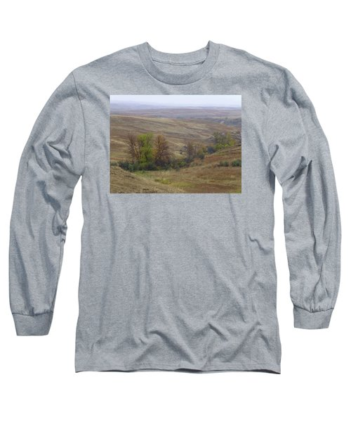 Enchantment Of The September Grasslands Long Sleeve T-Shirt