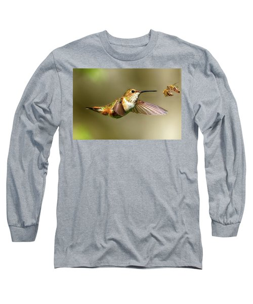 Encounter Long Sleeve T-Shirt by Sheldon Bilsker