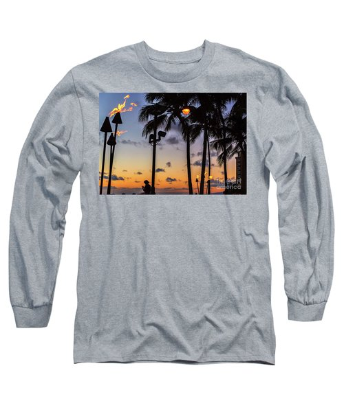 End Of The Beutiful Day.hawaii Long Sleeve T-Shirt