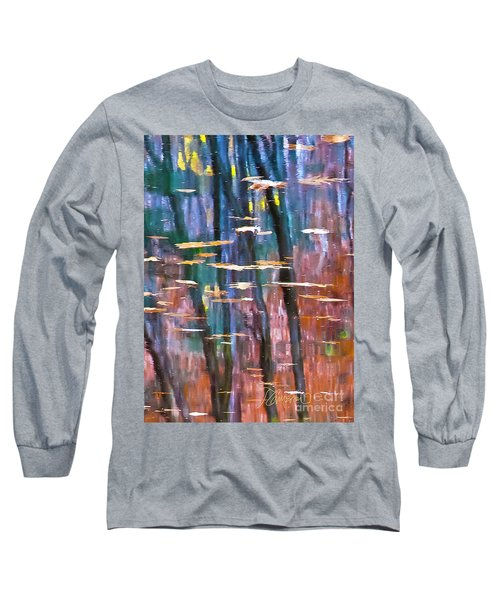 Long Sleeve T-Shirt featuring the photograph Enders Reflection by Tom Cameron