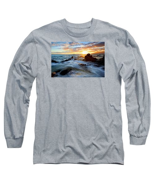 Endless Ocean Long Sleeve T-Shirt by James Roemmling