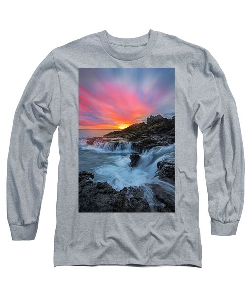 Endless Sea Long Sleeve T-Shirt by James Roemmling