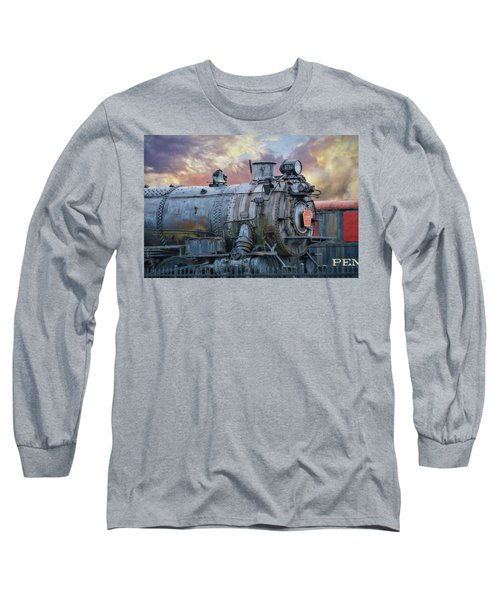Long Sleeve T-Shirt featuring the photograph Engine 3750 by Lori Deiter