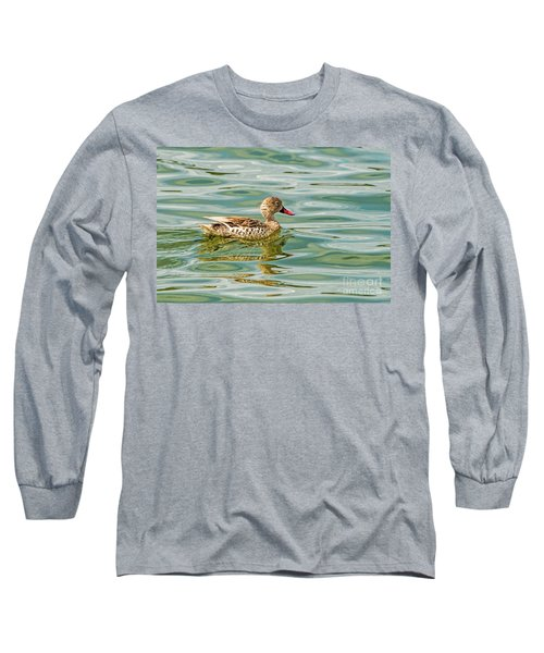Enjoying Long Sleeve T-Shirt by Pravine Chester