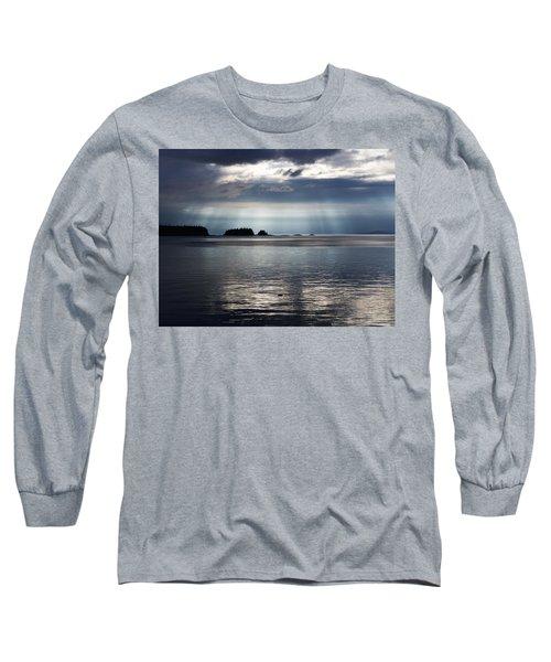 Enlightened Long Sleeve T-Shirt by Karen Horn