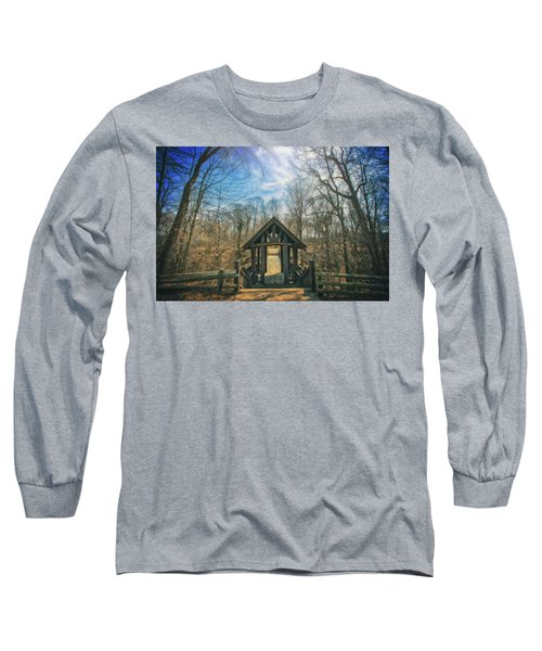 Entrance To Seven Bridges - Grant Park - South Milwaukee #3 Long Sleeve T-Shirt by Jennifer Rondinelli Reilly - Fine Art Photography
