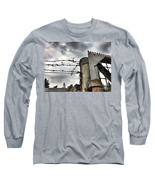 Entrance To The Old Ammunition Depot Of The Belgian Army Long Sleeve T-Shirt