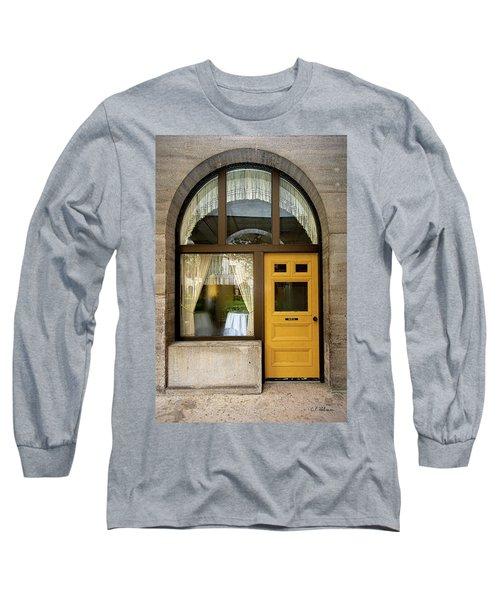 Entry Geometrics Long Sleeve T-Shirt by Christopher Holmes