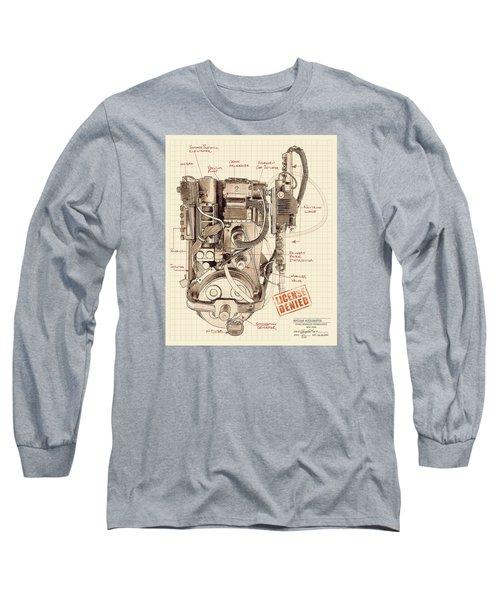 Epa Application #012938rt34 Long Sleeve T-Shirt by Kurt Ramschissel