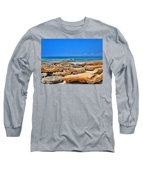 Es Trenc Long Sleeve T-Shirt by Andreas Thust