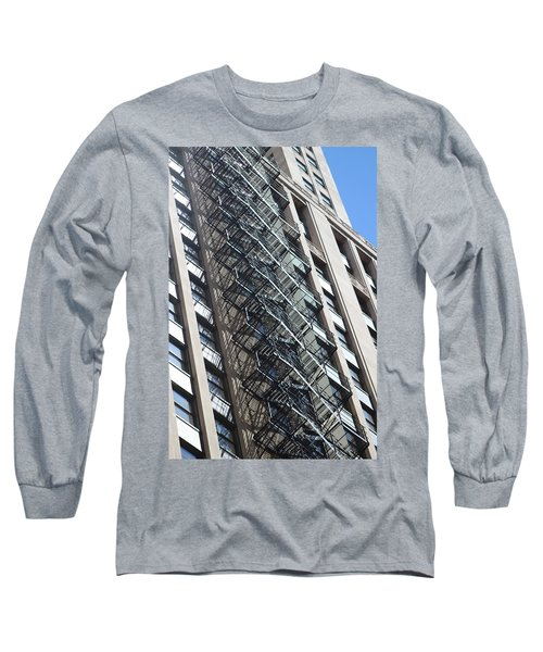 Escaping A Chicago Brownstone Long Sleeve T-Shirt