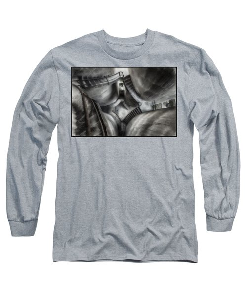 Escher Stairwell Long Sleeve T-Shirt