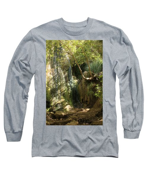 Escondido Falls In May Long Sleeve T-Shirt