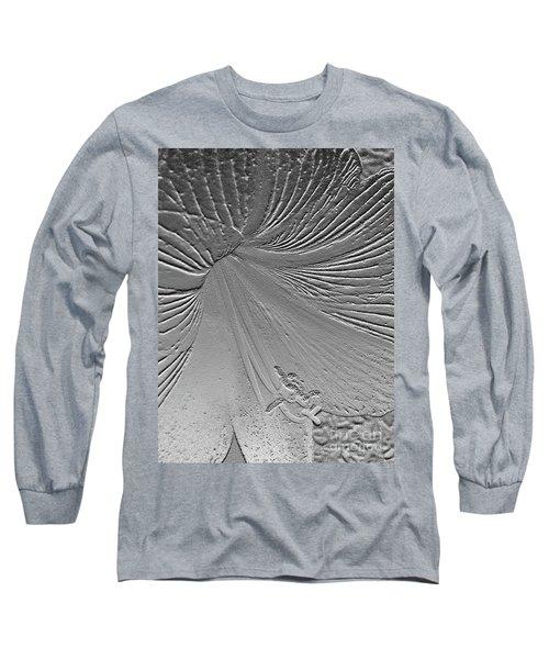 Etched Amaryllis Long Sleeve T-Shirt