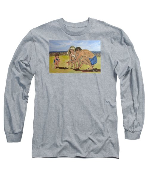 Long Sleeve T-Shirt featuring the painting Eternal Offering by Betty Pieper