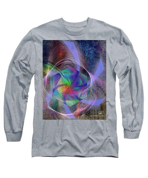 Eternal Reactions Long Sleeve T-Shirt by John Robert Beck