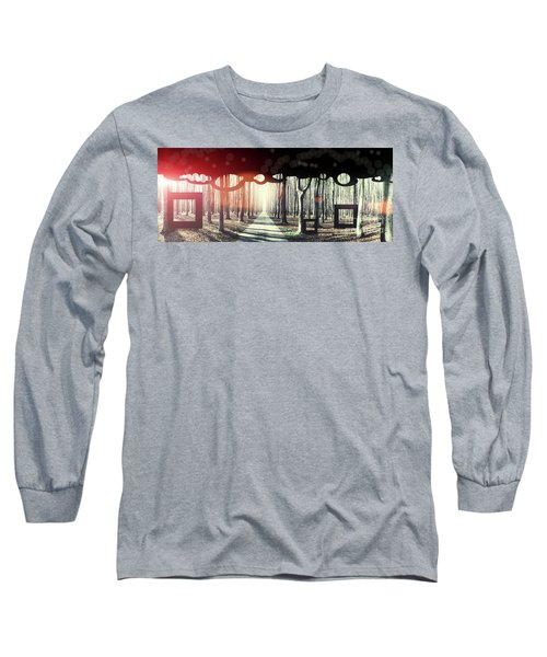 Eternity, Conceptual Background Long Sleeve T-Shirt
