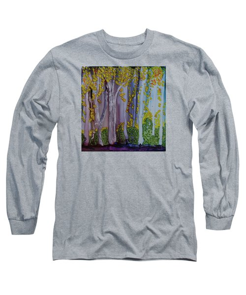Ethereal Forest Long Sleeve T-Shirt by Suzanne Canner