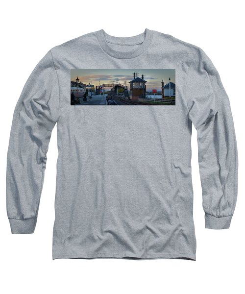 Evening At Bo'ness Station Long Sleeve T-Shirt