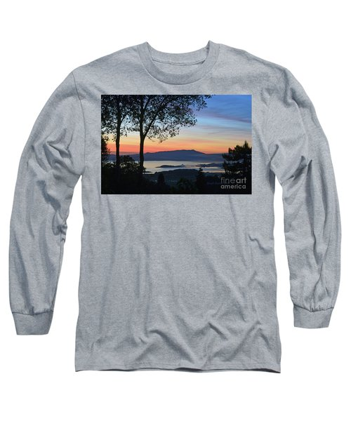 Evening Before Lunar Eclipse Long Sleeve T-Shirt