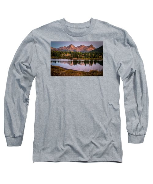 Evening Glow At Molas Lake Long Sleeve T-Shirt