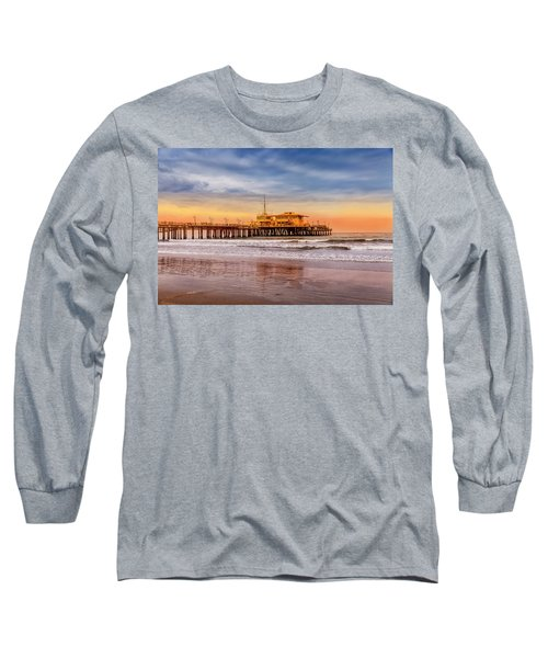 Evening Glow At The Pier Long Sleeve T-Shirt