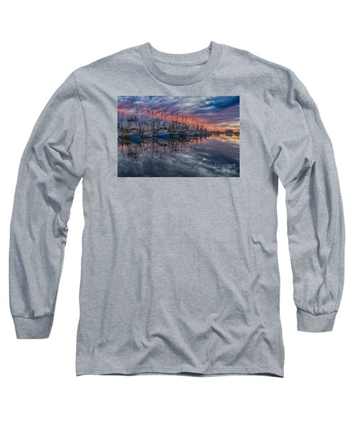 Evening Glow Long Sleeve T-Shirt by Brian Wright