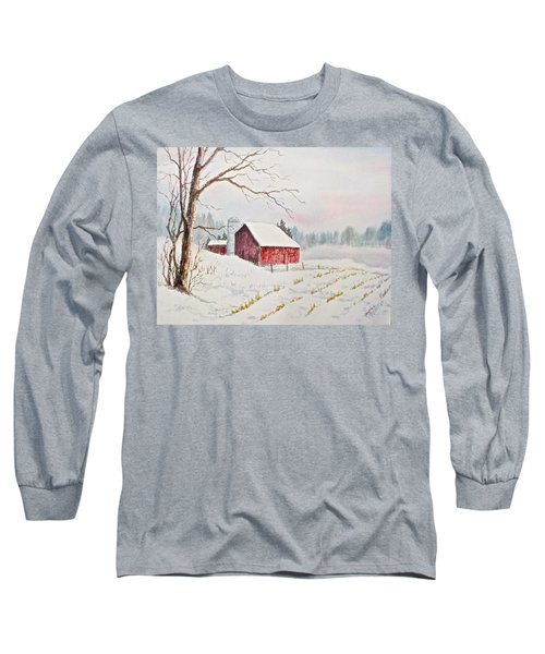 Evening Hush Long Sleeve T-Shirt by Carolyn Rosenberger