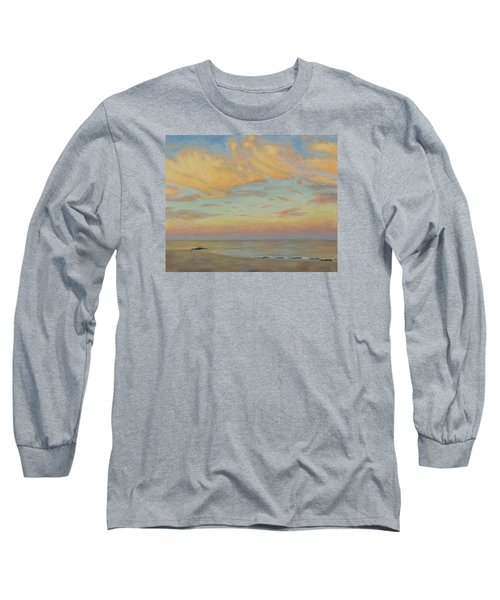 Long Sleeve T-Shirt featuring the painting Evening by Joe Bergholm