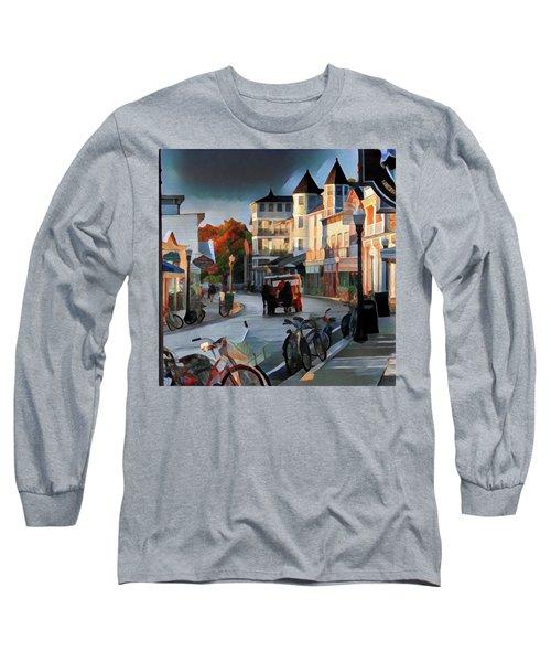 Evening On Mackinac Island Long Sleeve T-Shirt