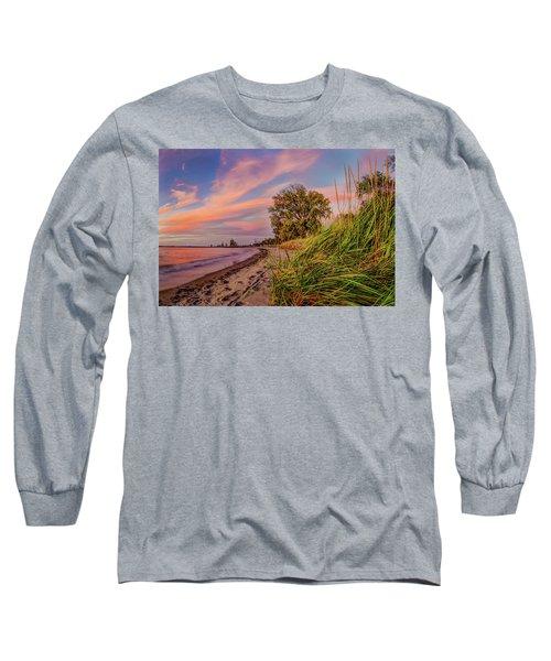 Evening Sunset Long Sleeve T-Shirt