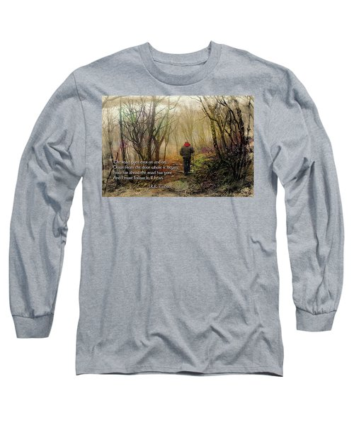 Long Sleeve T-Shirt featuring the photograph Ever On And On... by Jessica Brawley