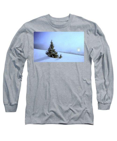 Evergreen Offspring P D P Long Sleeve T-Shirt by David Dehner