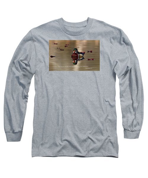 Long Sleeve T-Shirt featuring the photograph Every Morning by Lynn Hopwood